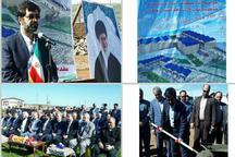 عملیات احداث کارخانه شیرآلات نوآوران در گرمی مغان شروع شد