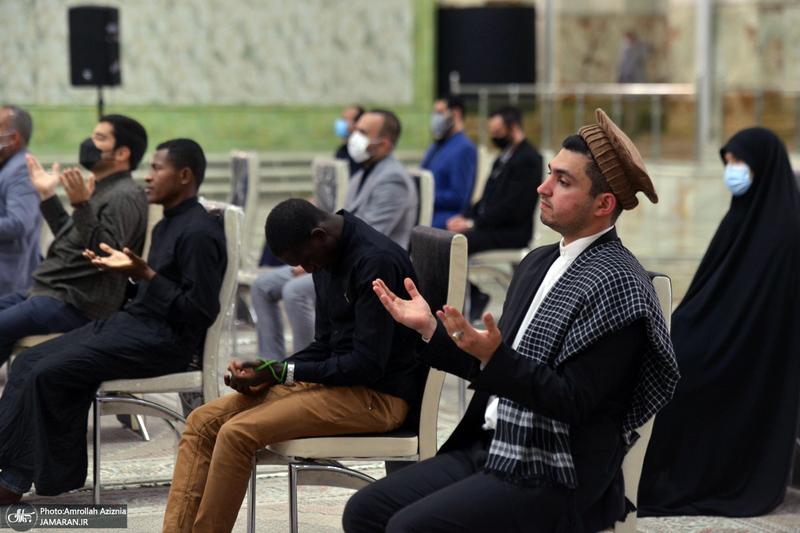 مراسم عزاداری 28 صفر در حرم امام خمینی(س)