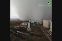وقوع طوفان برفی در  روسیه
