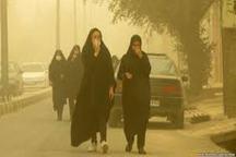 غلظت گرد و غبار در مهران به 28 برابر حد مجاز رسید