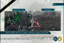 شور و غوغایی که ورود پیکر شهید سپهبد حاج قاسم سلیمانی در مشهد به پا کرد