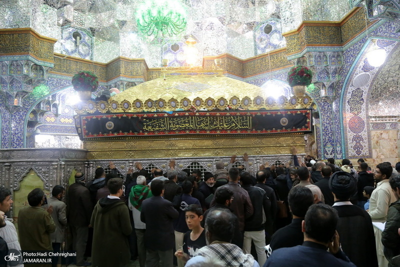شب شهادت ثامن الحجج(ع) در حرم کریمه اهل بیت(س)