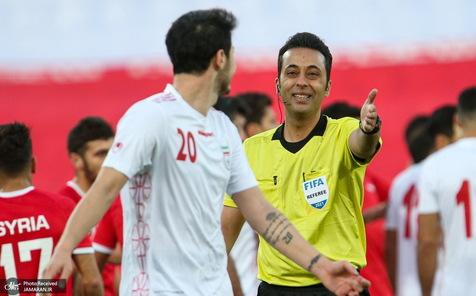 فیفا داوران انتخابی جام جهانی در گروه ایران را اعلام کرد