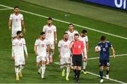 تشکر ویژه بازیکنان تیم ملی از زنان تماشاگر/ ویدیو