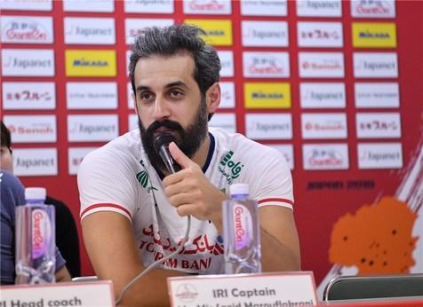 معروف: بازیکنان ایران برای هرامتیاز جنگیدند/ جوانان ما عالی بودند