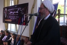 مجلس بزرگداشت مرحوم شیخ محمد علی صادقی در مشگین شهر برگزار شد