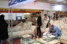 افتتاح نمایشگاه مبلمان، لوستر و سوغات در منطقه آزاد انزلی