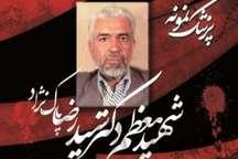 شهدای هفتم تیر  مروری بر زندگی شهید سید رضا پاکنژاد
