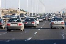 ایجاد ترافیک سنگین در آزادراه های استان قزوین