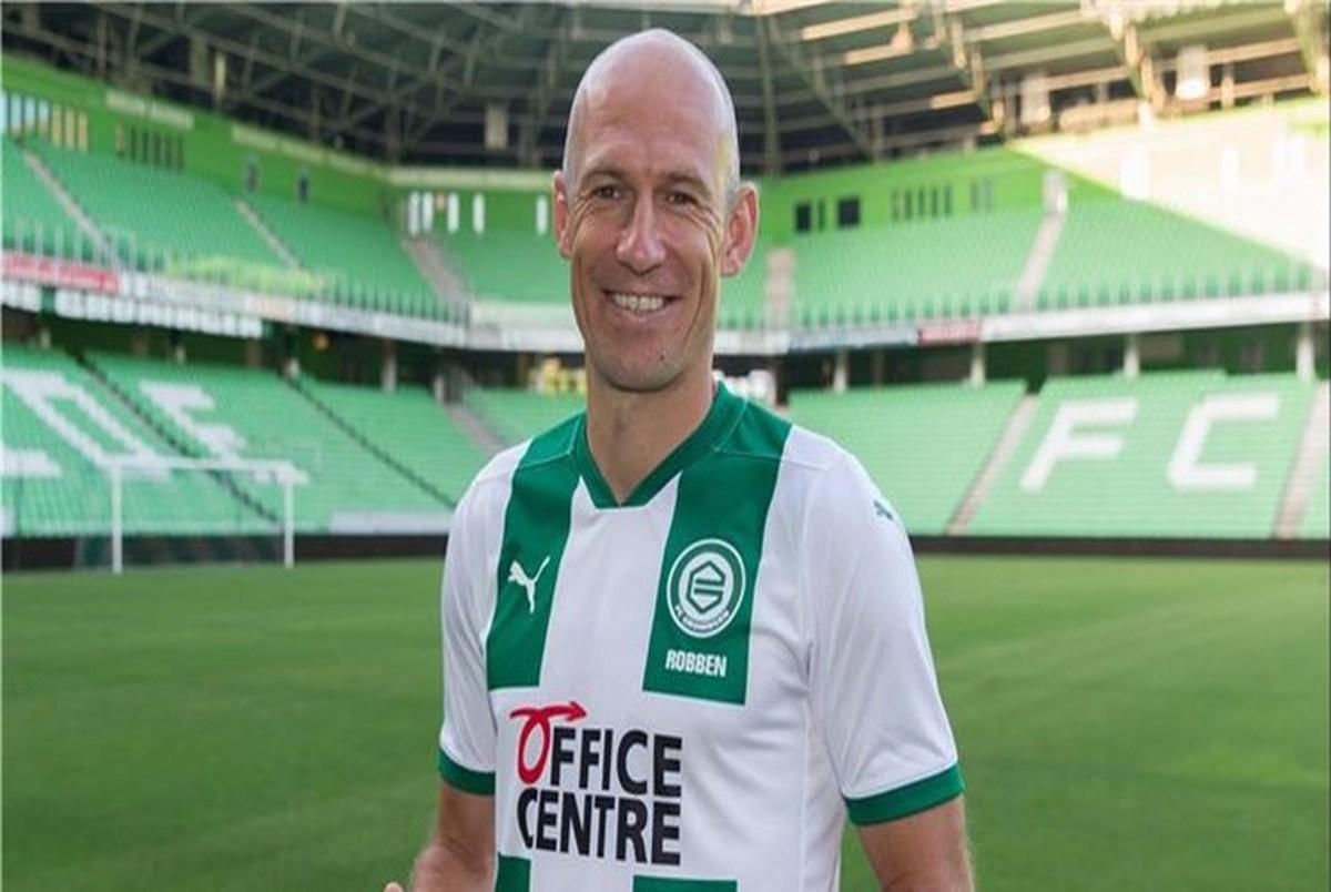 آخرین دبل مرد هلندی؛ خداحافظی روبن از دنیای فوتبال +عکس