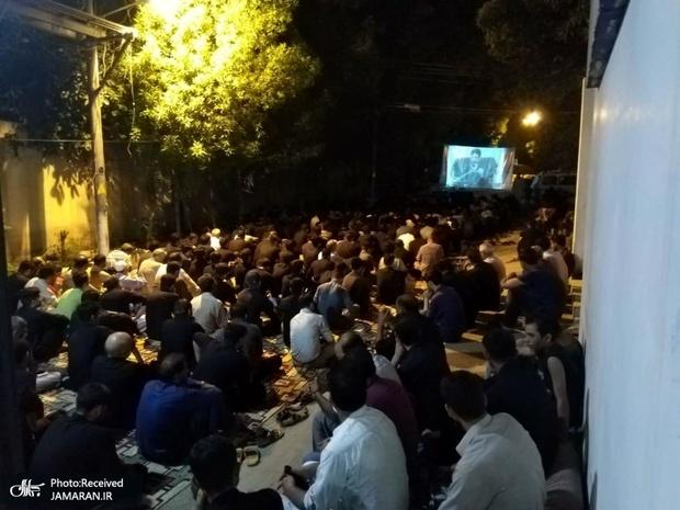 مراسم عزاداری دهه اول محرم در دانشگاه امام خمینی کراچی پاکستان