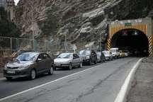 محدودیت ترافیکی 11 تا 14 فروردین در جاده کرج - چالوس اعمال می شود
