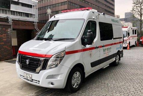 اولین آمبولانس های برقی رونمایی شد