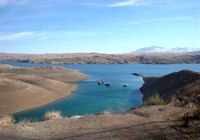 کاهش 70 درصدی ذخیره آب سد زاینده رود