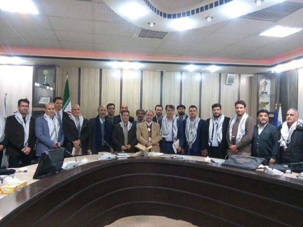 بسیج جامعه ورزشکاران رشته فوتبال در یزد تشکیل شد