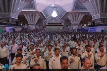 تجدید میثاق جمعی از فرماندهان و پرسنل ناجا با آرمانهای بنیانگذار انقلاب اسلامی
