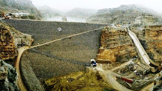 سد ابیورد درگز ساخته شد