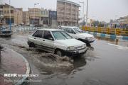 ورود سامانه بارشی شدید به قم از دوشنبه  احتمال وقوع سیل