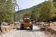 9راه دسترسی در مناطق عشایری اندیکا مرمت شد