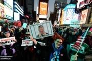 فریاد برکناری ترامپ در خیابانهای نیویورک+ تصاویر