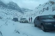 ۸۴ مسافر گرفتار در برف تاراز اندیکا اسکان یافتند