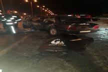 کشته شدن 2 نفر بر اثر تصادف در بلوار شاهد کرمان