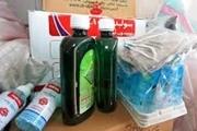 توزیع بسته های  بهداشتی در لرستان