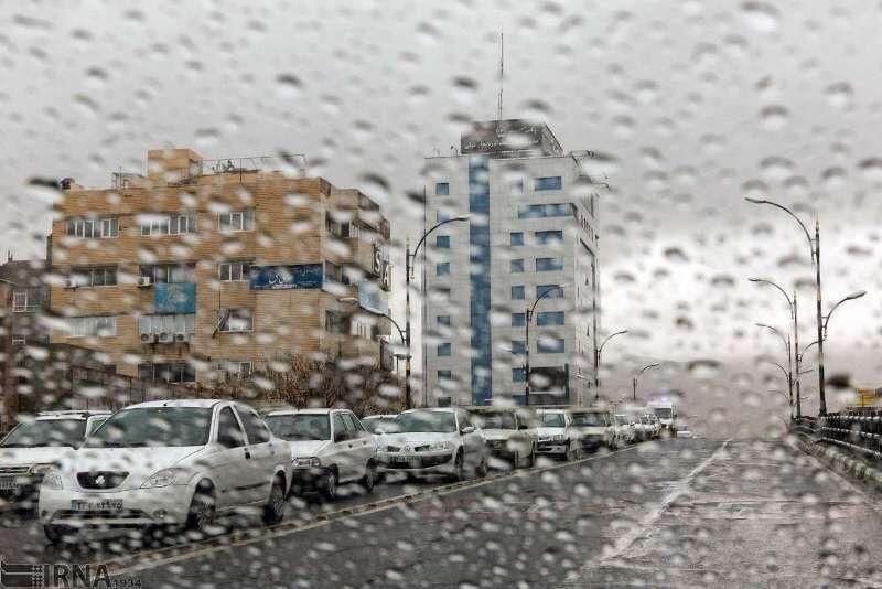 بارش نیمه جنوبی خراسان رضوی را فرا میگیرد