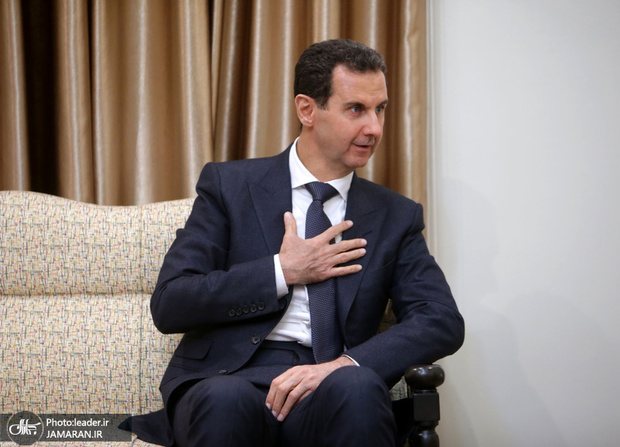 قدردانی بشار اسد از کمکهای ایران در دوران تحریم