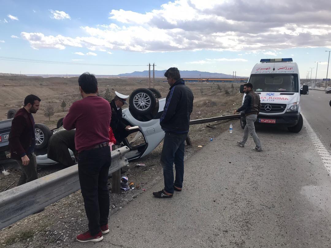 تصادف در جنوب تهران ۳ کشته و مصدوم داشت