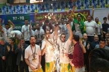 سرمربی بسکتبال نفت آبادان: تلاش یک ساله بازیکنان ستودنی بود