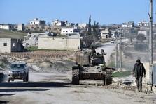 پیشروی ارتش سوریه در جنوب شهر ادلب