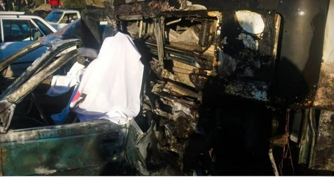 سه کشته در پی تصادف وحشتناک کامیون با پژو + عکس و فیلم