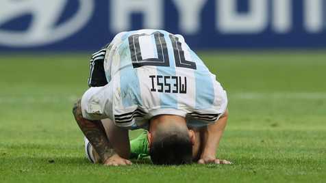 صعود آرژانتین با شکست قطر و سومین پیروزی شاگردان کی روش