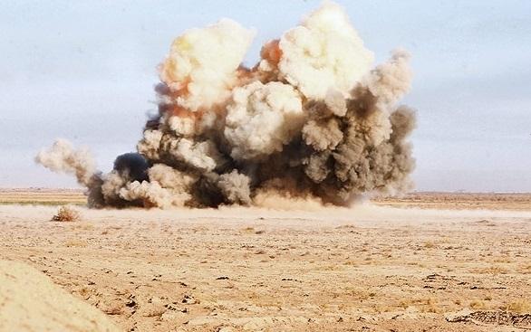 انفجار مین در قصرشیرین