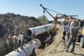 فاز اول طرح جامع تامین آب شرب حمیدیه در حال تکمیل است