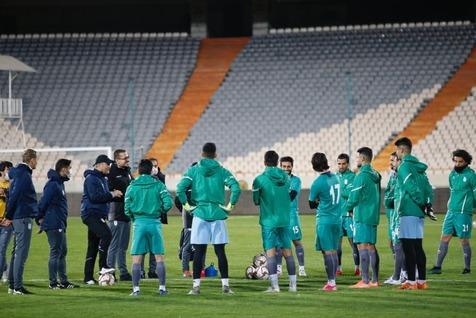 تمرین تیم ملی در بوسنی به یاد زنده یاد یاوری