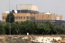 حملات موشکی به نزدیکی سفارت آمریکا در منطقه سبز بغداد