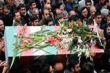 پیکر پاک شهید نیروی ویژه هوابرد در ارومیه تشییع شد
