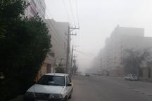 مه رقیق پدیده جوی غالب خوزستان است