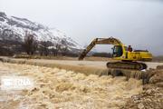 آب آشامیدنی سه روستای گیان نهاوند بر اثر سیلاب قطع شد