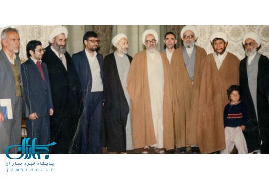 تک عکس | آیت الله صانعی در دوره اول شورای نگهبان