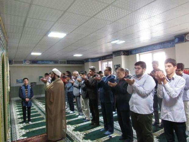 اهمیت اقامه نماز در مدارس البرز تبیین شود