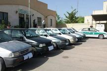 سارق 20 دستگاه خودرو پراید در همدان دستگیر شد