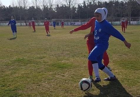 پیروزی پرگل تیم فوتبال بانوان ایران مقابل فلسطین