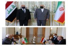 دیدار ظریف و وزیر امور خارجه عراق+ عکس