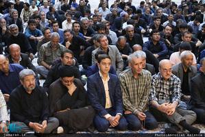 مراسم بزرگداشت شهید موسوی در حرم مطهر امام خمینی(س)