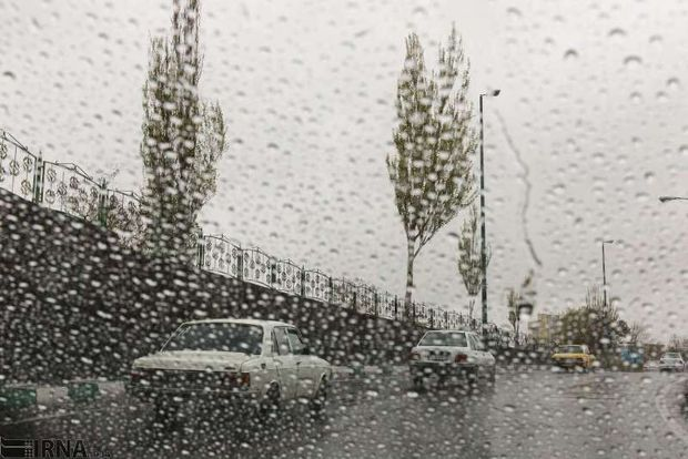 ۵۵ میلیمتر بارندگی در استان مرکزی ثبت شد