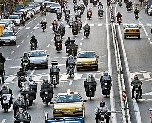 کلاس آموزشی پلیس برای موتورسواران