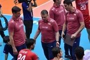 تمرین تیم ملی والیبال  به خاطر بسته بودن درب ورزشگاه آزادی لغو شد